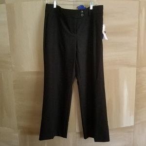 KOHLs Black Tie Collection Dressy Black Trousers